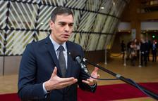 """Pedro Sánchez veu """"altament decebedora"""" la proposta de pressupost que retalla la PAC"""