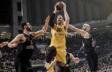 El Barça conquereix Atenes i suma la sisena victòria consecutiva a Europa