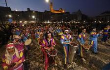 La alegría, el desmadre y la fiesta toman Lleida