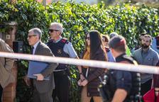 El jurat popular visita les escenes del crim de la Guàrdia Urbana