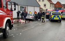 Més de 30 ferits en un atropellament massiu en un Carnaval a Alemanya