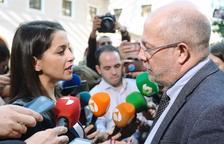 Inés Arrimadas e Igea se enfrentan por el futuro de Cs