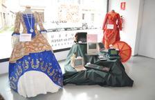 L'exposició dedicada als Vestits de Paper i la tecnologia.