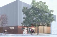 Imatge virtual del nou teatre de les Borges Blanques.
