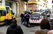 Batalla campal entre dos famílies d'un mateix bloc de Lleida