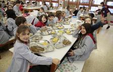 Menjadors amb productes de km 0 i atenció a nens amb necessitats