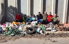 Veïns de Golmés organitzen una recollida de runa i rebutjos