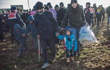"""La UE """"lloa"""" el paper d'escut de Grècia davant de l'allau migratòria"""