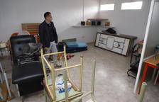 Alfarràs convierte la antigua escuela de la fábrica textil en museo del sector