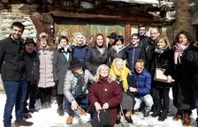 Cent persones homenatgen Generosa Cortina a Son