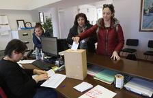 El pati del nou col·legi d'Almenar, primer al pressupost participatiu