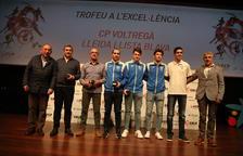 Premios para Lleida, ayer en la Gala del Patinaje Catalán