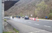 El cierre de la frontera francesa en Aran vacía las calles de Bossòst y Les