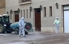 Los pueblos intensifican la desinfección de las calles