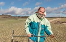 """Carlos Cantero: """"Les noves tècniques agrícoles poden mitigar els efectes del canvi climàtic"""