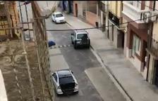 VÍDEO   Espectacular persecució dels Mossos per atrapar un conductor que es va saltar un control