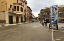 Montgai termina las obras de mejora de la plaza de la Fassina y su entorno