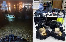 Cazan 'in fraganti' a dos buzos mientras sacaban cocaína de un buque peruano
