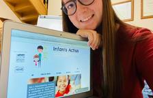 Jóvenes de El Palau abren una web educativa para niños