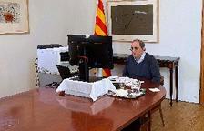 Torra crida al Govern espanyol a prevenir rebrots:
