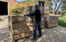 Las cárnicas catalanas compran en el mercado chino 80.000 mascarillas