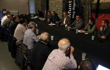 Alcaldes del Sobirà volen mitjans per dinamitzar l'economia