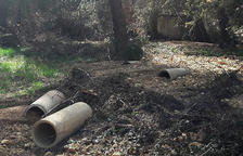 Vinaixa repara la red de agua afectada por el Gloria y la Dana
