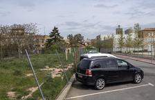 Guissona urbaniza un tramo de calle que se abrió hace cinco años