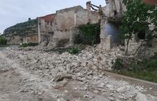 Una antigua mina de La Granja d'Escarp se derrumba