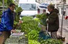 Agramunt obre el mercat per a alimentació i horticultura