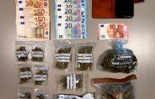 Detingut un veí de Montanui per traficar amb marihuana a Aran