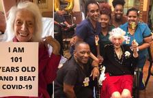 Una dona de 101 anys sobreviu a la grip espanyola i al coronavirus