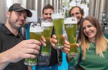 Neix al Pallars l'Oliba Green Beer, la primera cervesa verda d'oliva del món