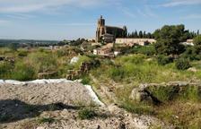 Balaguer retoma los trabajos para musealizar las ruinas del Castell Formós