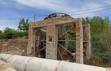 Torrelameu projecta rehabilitar les tres nòries d'aigua i fer un vial per a vianants