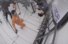Marzenit va experimentar amb un teclat la música en gravetat zero fa dos anys en un vol parabòlic.