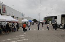 Reobre el mercat de Torrefarrera amb trenta parades d'alimentació