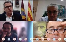 La Diputación y Les Garrigues debaten el plan de ayudas