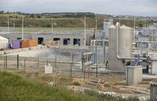 Obras para evitar el colapso de la depuradora de Guissona