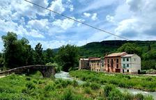 Vilaller renueva la ribera del Ribagorçana para el turismo