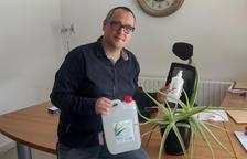 Una empresa de l'Alt Urgell ven un gel hidroalcohòlic elaborat a Alàs