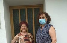 L'Associació de Dones de Torrelameu dóna material sanitari