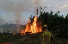 Incendis de vegetació a Tornabous i Bell-lloc