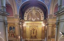 Missa per celebrar la festa de Sant Salvador Votat a Golmés