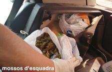 Detenido en Vilaller con 390 gramos de 'maría'