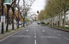 L'Eix Comercial de Lleida critica el tall d'avinguda Madrid i Joana Raspall els dissabtes