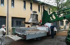 La campana Champagnat del monasterio de Les Avellanes tendrá un yugo centenario