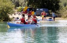 Demanda de reservas para ir en kayak por Mont-rebei