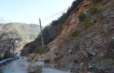 Obras para evitar desprendimientos en accesos a pueblos de Les Valls de Valira