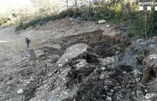 Denunciat per destruir terreny forestal al Jussà